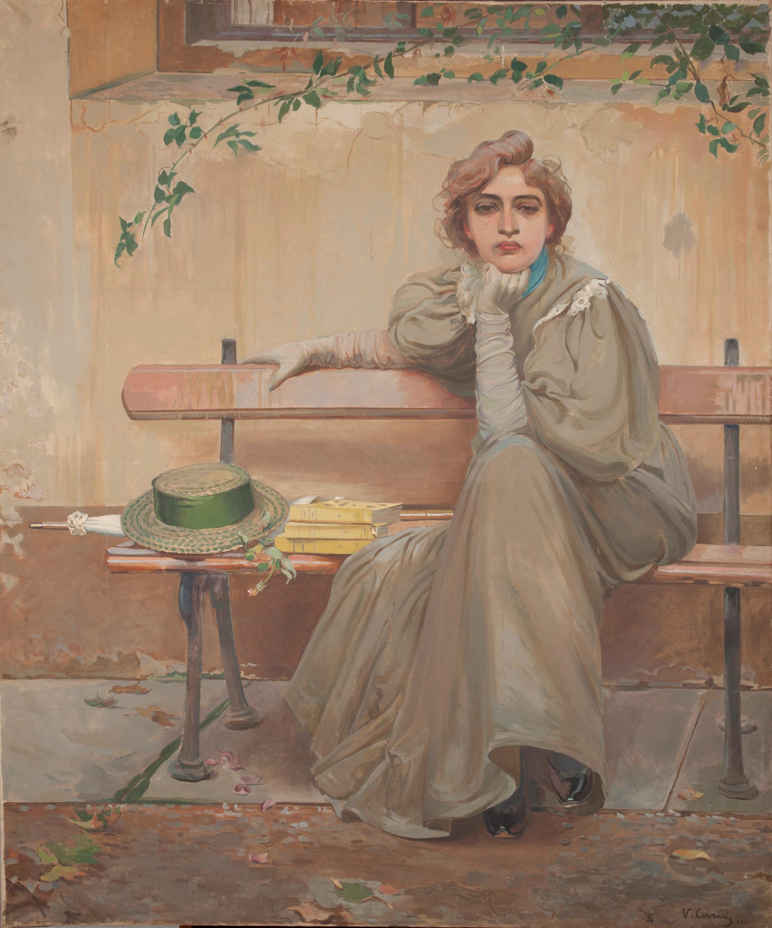 Vittorio Matteo Corcos, Dreams, 1896
